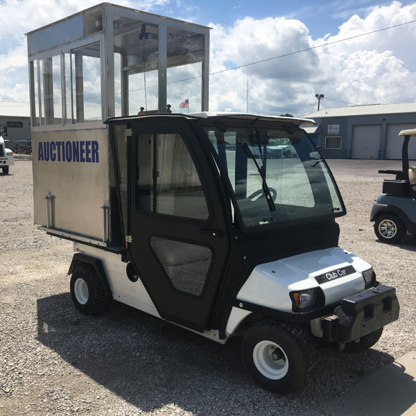 Club Car Auctioneer Vehicle
