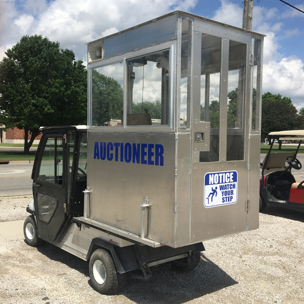 Club Car Auction Vehicle