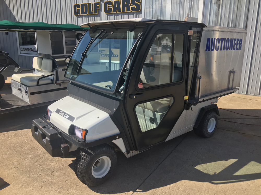 2007 WHITE CLUB CAR CARRYALL 2 GAS Golf Cart $6495