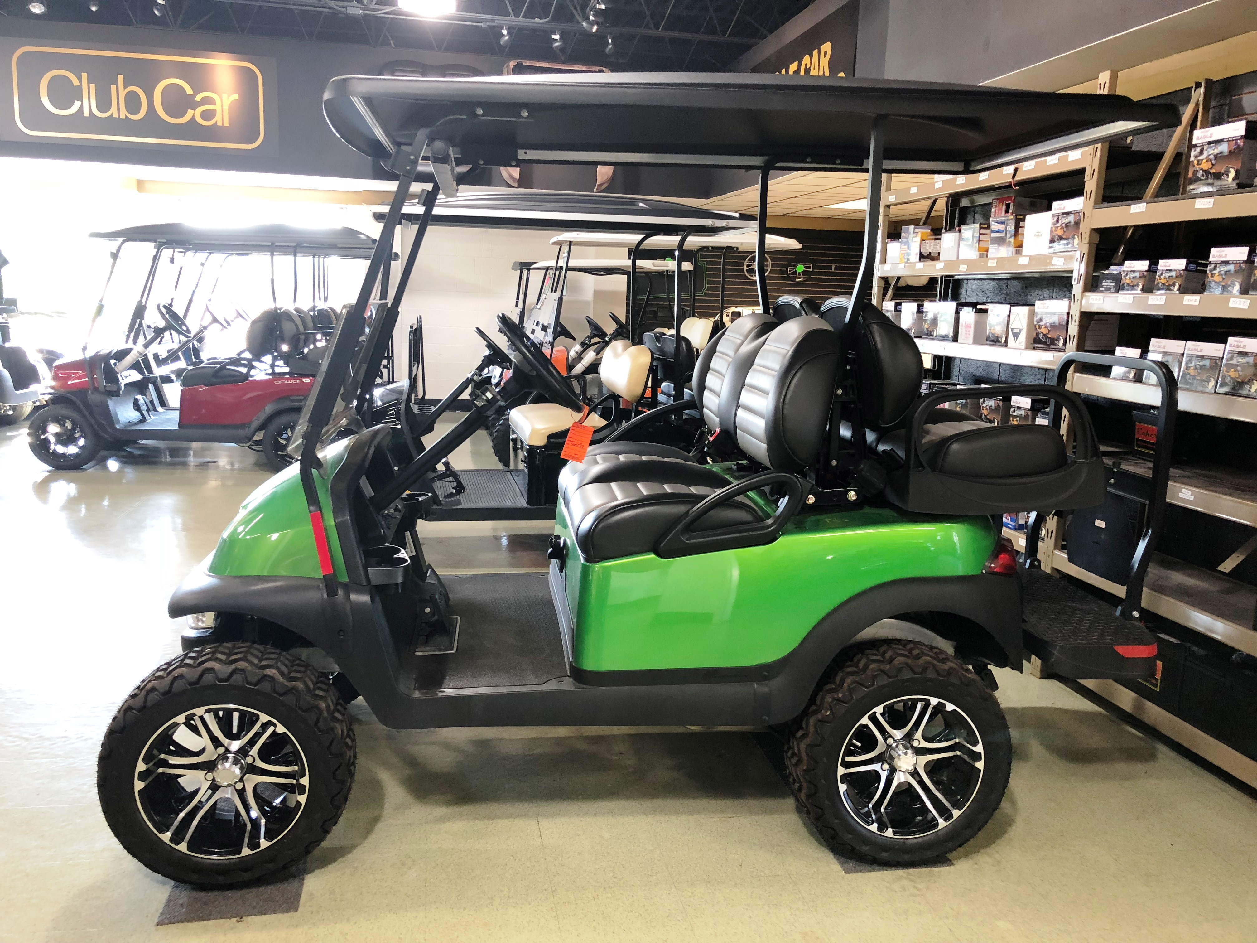 2015 SYNERGY GREEN Club Car Precedent Gas Golf Car $8150