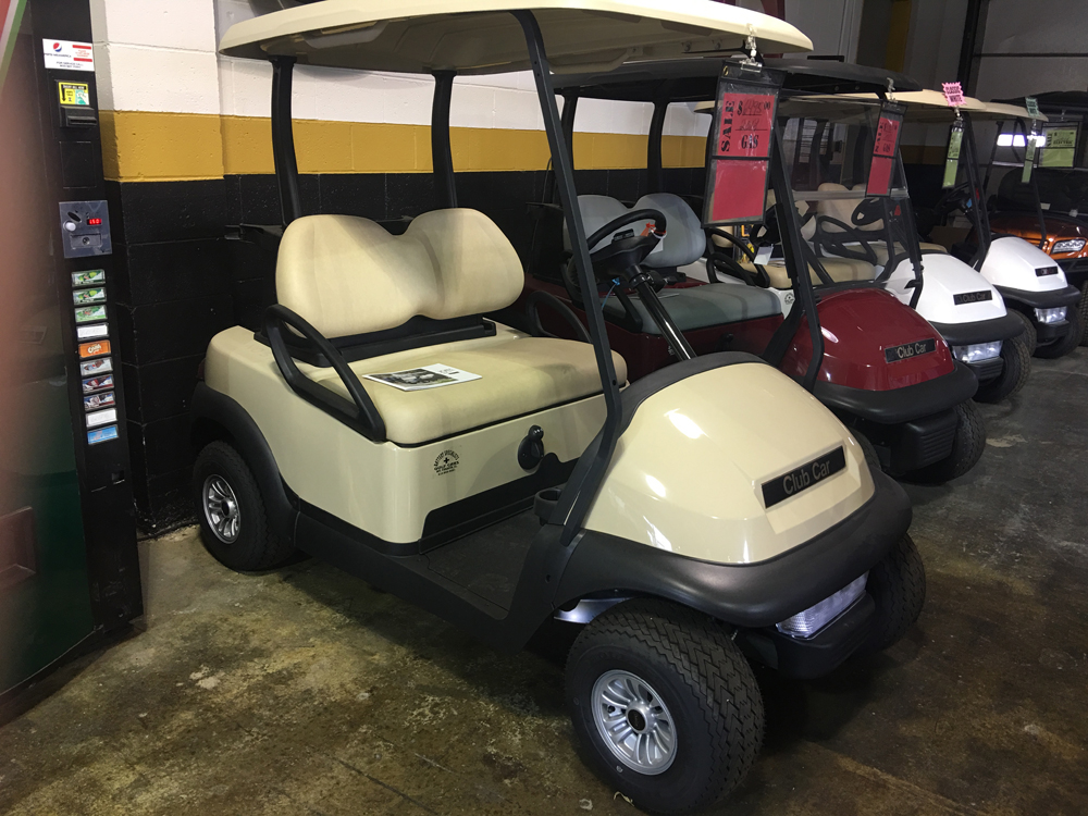2018 Beige Club Car Precedent Gas Golf Car $6495
