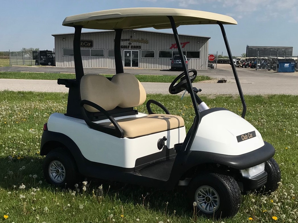 2018 White Club Car Precedent Gas Golf Car $6995
