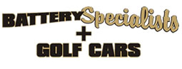 Battery Specialists + Golf Cars